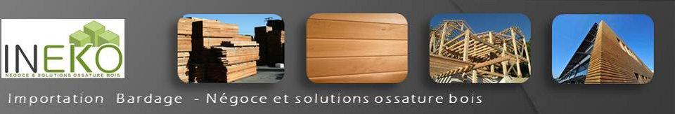 INEKO Importateur négociant bardage bois et solutions ossature bois
