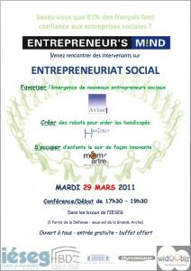 Affiche Entrepreneur's Mind