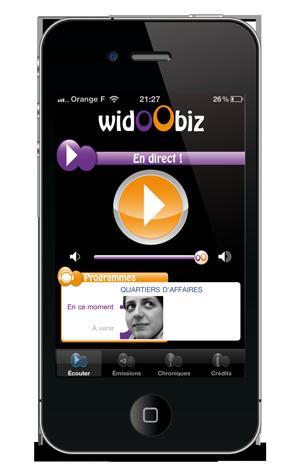widoobiz iphone
