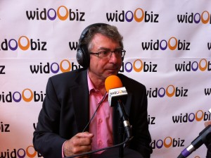 Gerard Galiana sur Widoobiz au Salon des Entrepreneurs de Lyon