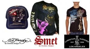 christian audigier marques smet ed hardy