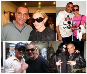 Christian Audigier Madonna Stallone Michael Jackson Britney Spears