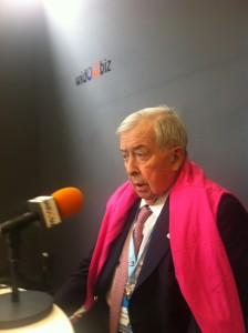 Pierre Bellon, fondateur et président de Sodexo, sur Widoobiz Radio à l'université d'été du MEDEF