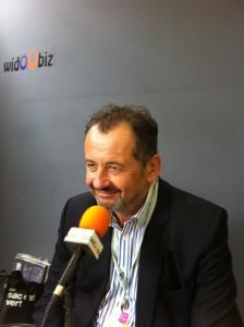 Guillaume Sarkozy, délégué général de Malakoff Médéric, sur Widoobiz, depuis l'université d'été du MEDEF