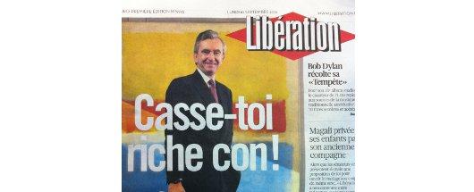 liberation couverture bernard arnault