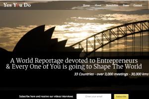Un reportage planétaire pour les entrepreneurs