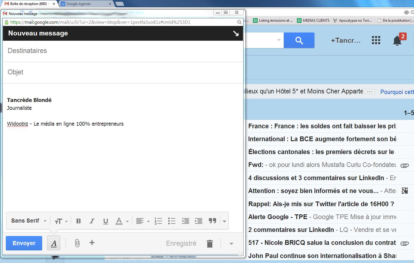 Gmail les 7 raccourcis clavier qui vont vous changer la vie for Raccourci clavier changer de fenetre