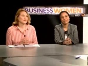 Business women Suzanne Haimet et Samantha Pastour