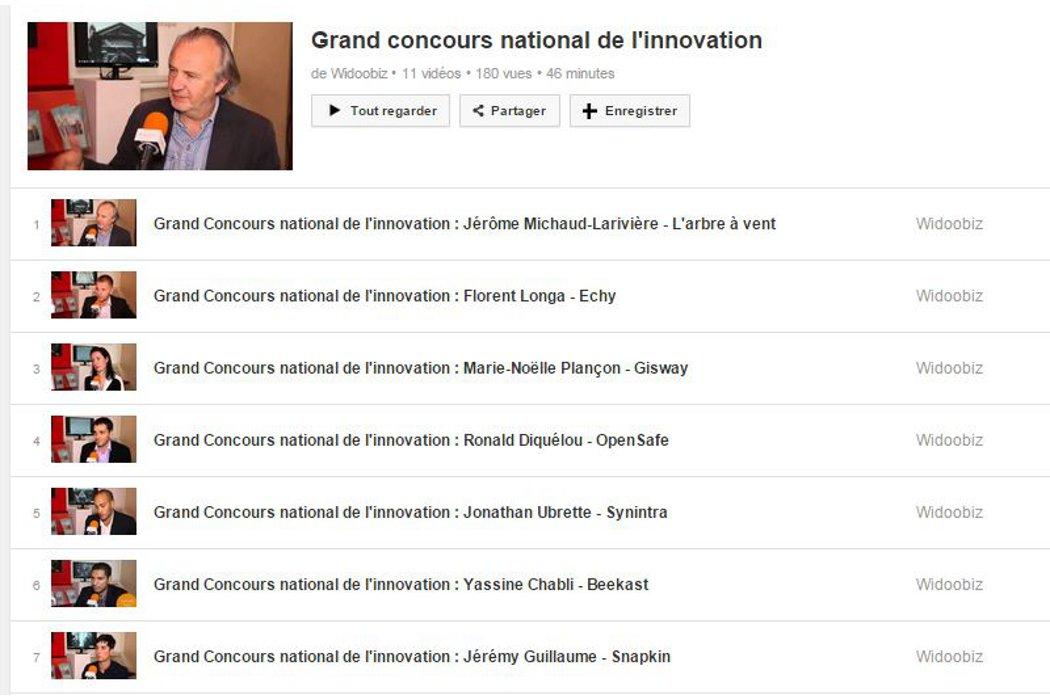 Grand concours national de l'innovation