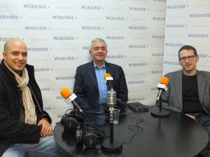 Marouane Marchoud, Eric Tenin, Lionel Kaplan et Charles Nouyrit