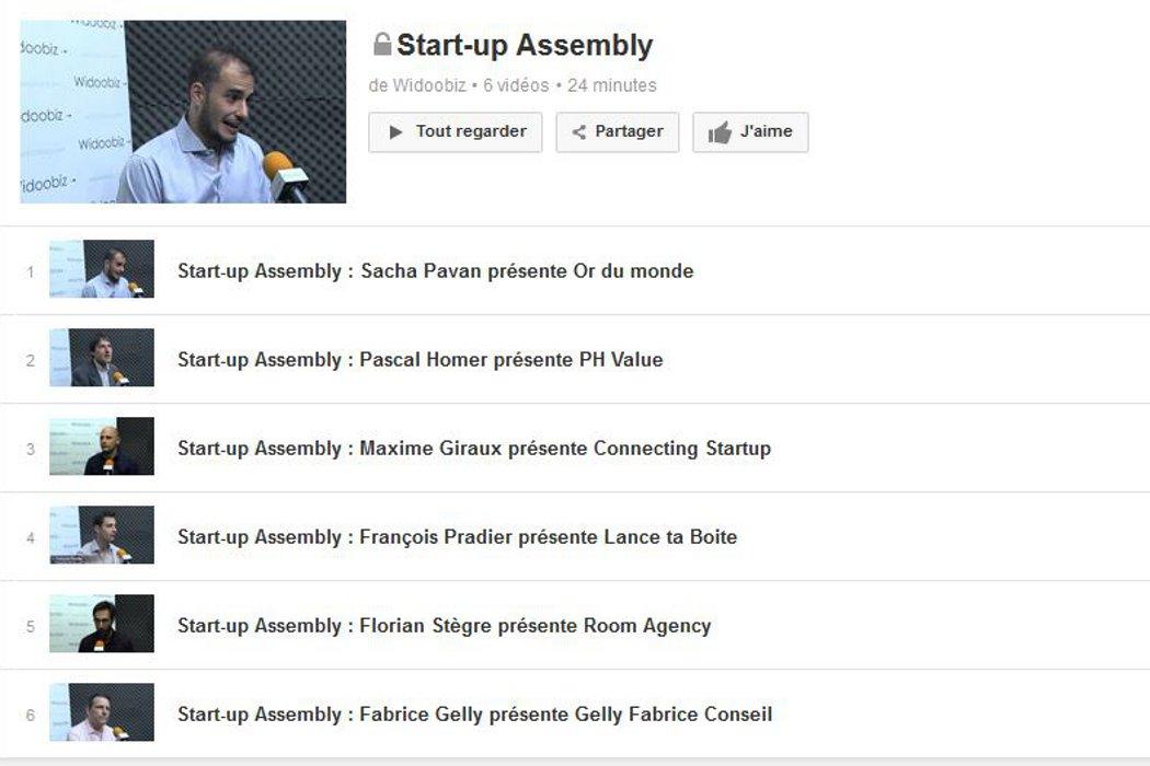 Start-up Assembly