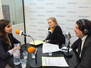Pauline Laigneau (Gemmyo) et Laurence Méhaignerie (Citizen Capital) au micro de Dominique Restino