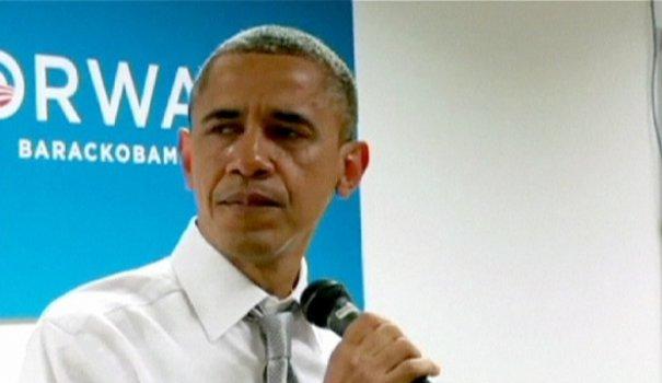 barack obama remerciements mitt romney USA