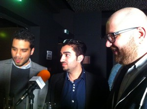 Farid Lahlou, Massoud Ayati et Zafar Baryali