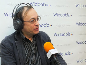 Paul de Trentinian (La Boutique des Inventions) au micro de Stéphane Vincent