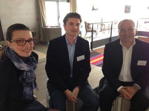 Béatrice Javary, Yann Vialet et Jean Luc Abelin