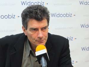 Pascal Durand (EELV) au micro de Nathalie Olivier