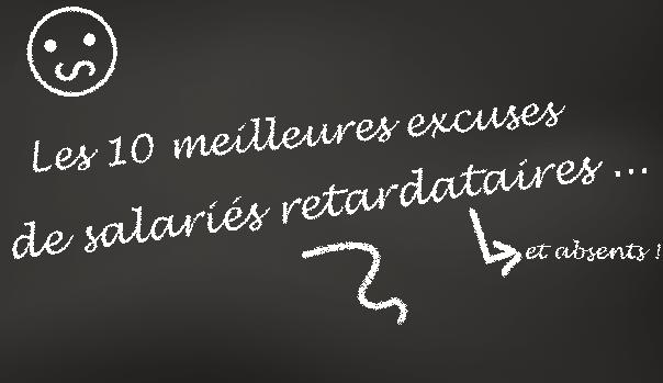Le top 10 des plus mauvaises excuses pour justifier ses absences