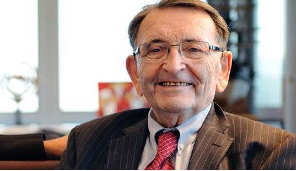 Mort edouard Leclerc entrepreneur