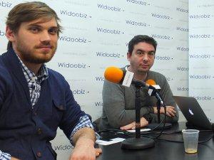 Edouard Petit (BunkR) et Frédéric Dumeny (Adfonic) au micro de Lionel Kaplan