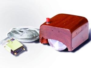 Premier prototype de la souris informatique