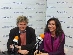 Nicolas de Bronac (Sequoia Pressing) au micro de Nathalie Busiaux