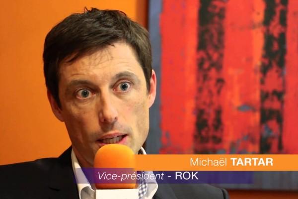 Rencontres internationales de la French Tech : Michaël Tartar, ROK Solution