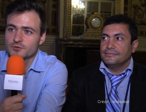 Maxime Sendorek et Kalid Daoudi