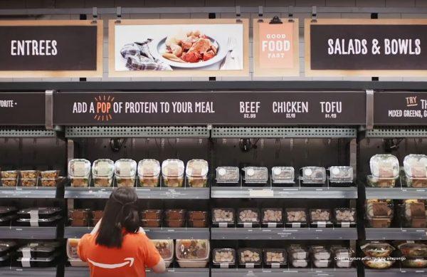 Amazon met un pied dans le futur et ouvre le premier supermarché sans caisses